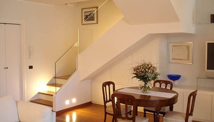 Progetto scala zona giorno for Progetti di vetro per la casa